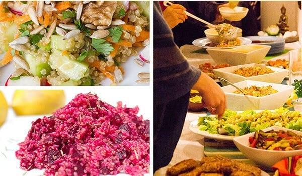 Azulfit Surya Retreat Food